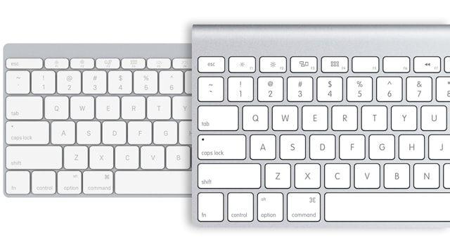Apple Wireless Keyboard, Magic Mouse
