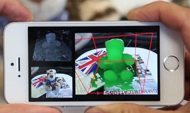 MobileFusion. 3D-сканер