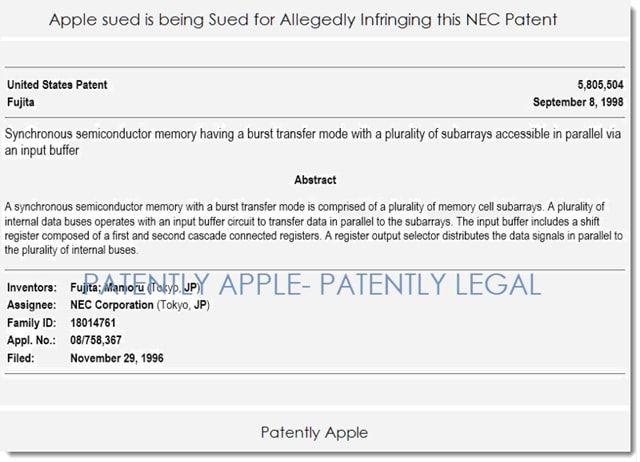 Apple, иск, Мать патетных троллей