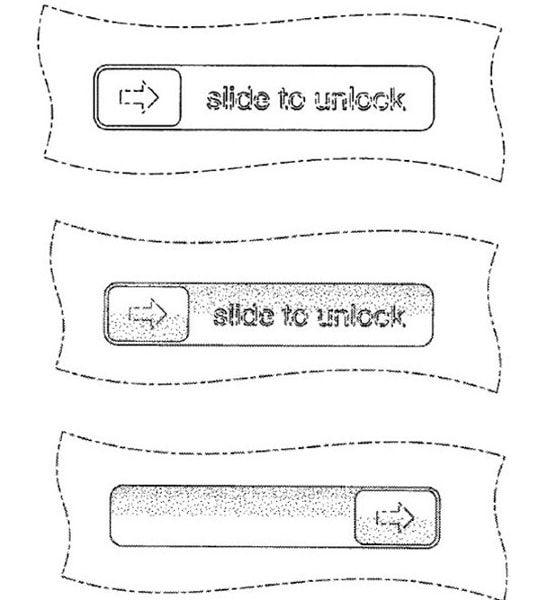 Slide to unlock, патент, суд