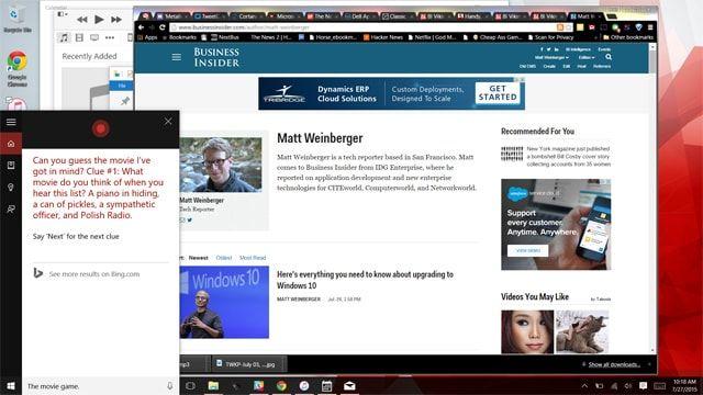 Windows 10 против OS X