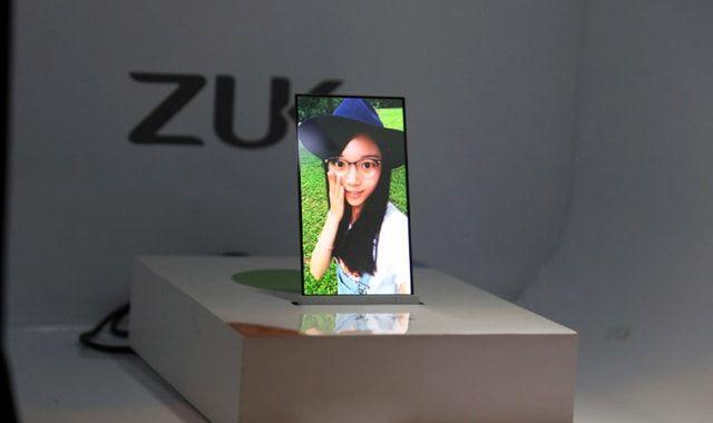 Zuk, прозрачный смартфон
