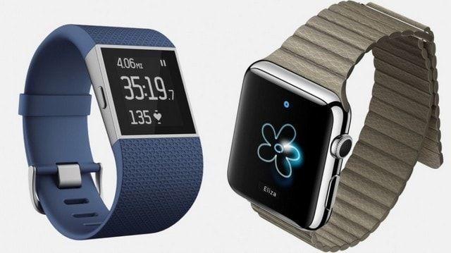 Apple Watch и Fitbit