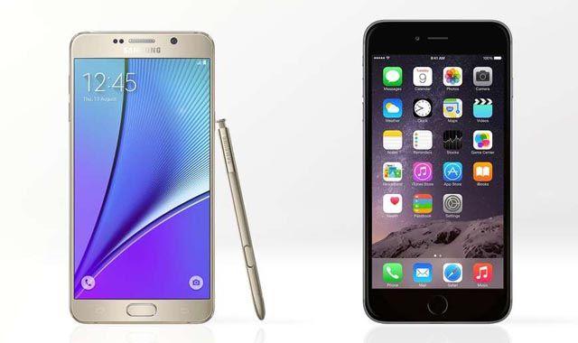iPhone 6 Plus, Samsung Galaxy Note 5, камера, сравнение