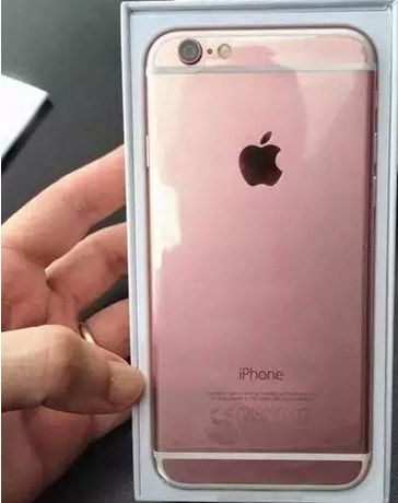 iPhone 6s. розовое золото