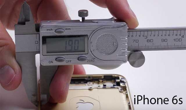 iPhone 6s, негнущийся корпус
