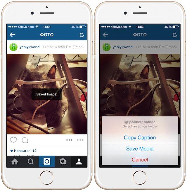 Твик igSpeedster — менеджер аккаунтов Instagram на iPhone