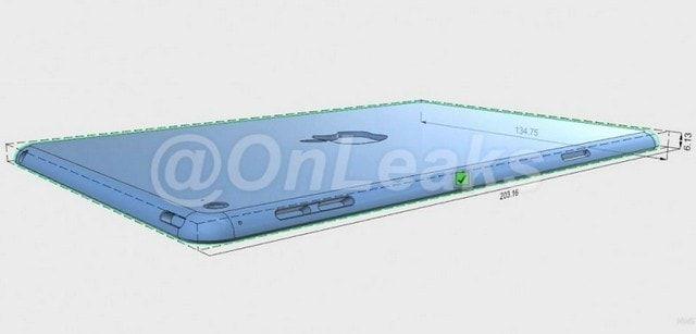 Рендер iPad mini 4