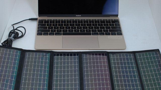 MacBook Solar Panel
