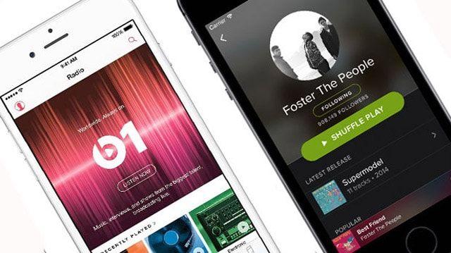 Apple Music и Spotify