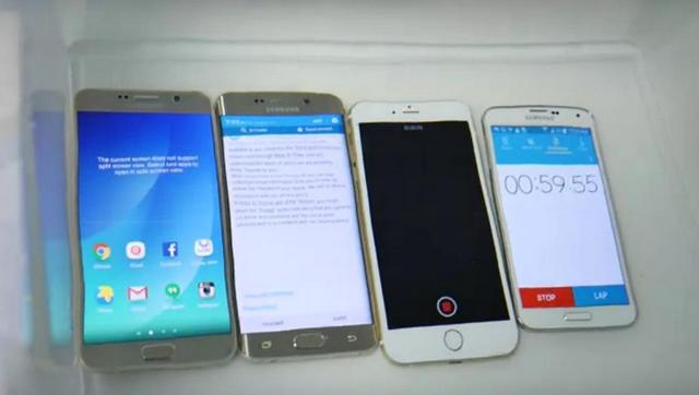iPhone 6, Galaxy Note 5 и Galaxy S6 edge+