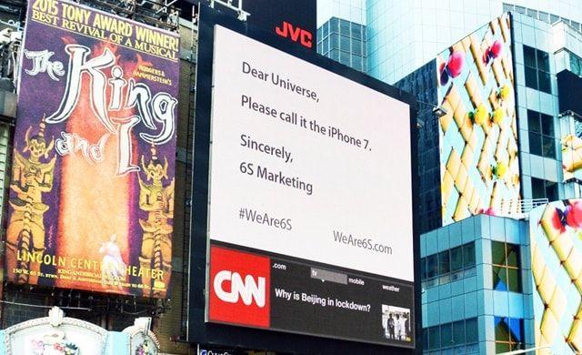 6S Marketing, iPhone 7