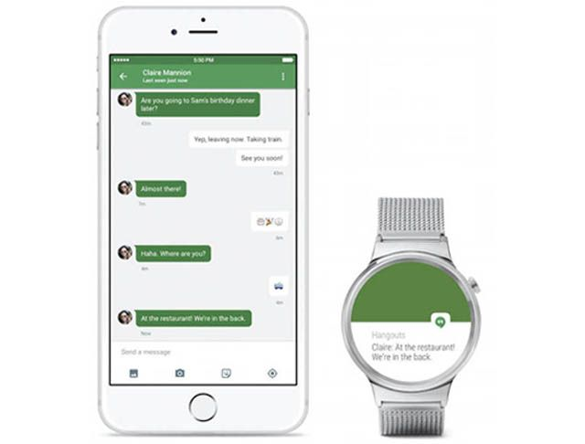 Android Wear, iPhone