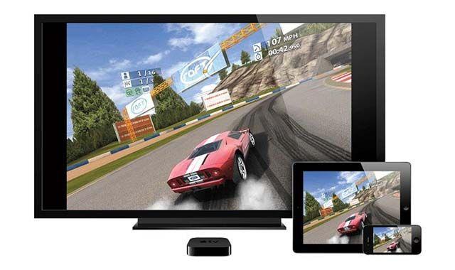 Apple TV 4, игровая приставка