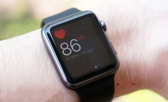 Apple Watch, пульсометр