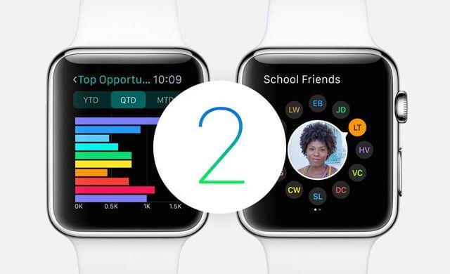 Apple Watch, Watch OS 2, презентация