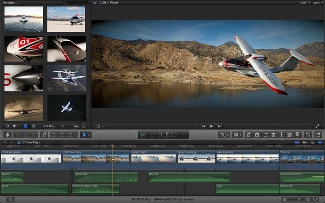 Final Cut Pro X 10.2.2