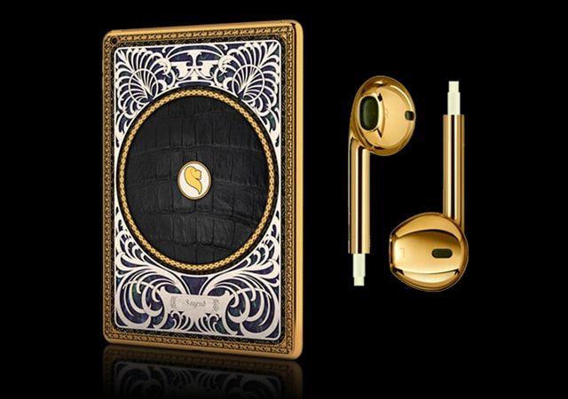 Legend, Apple, декорирование драгметаллами