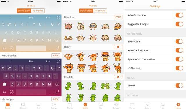 Next Keyboard, iOS-клавиатура