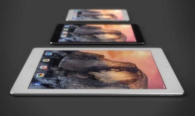 iPad Pro, iPad mini, презентация