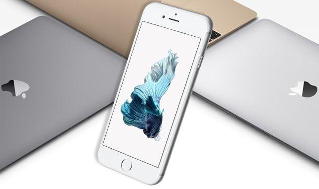 iPhone 6s против MacBook
