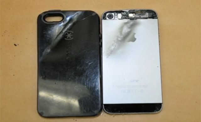 iPhone остановил пулю