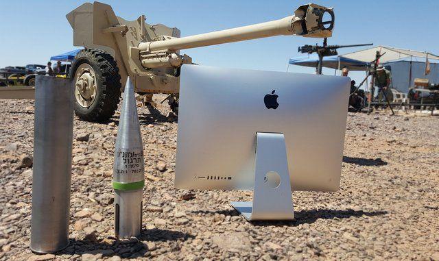 iMac против T8 калибра 90 мм