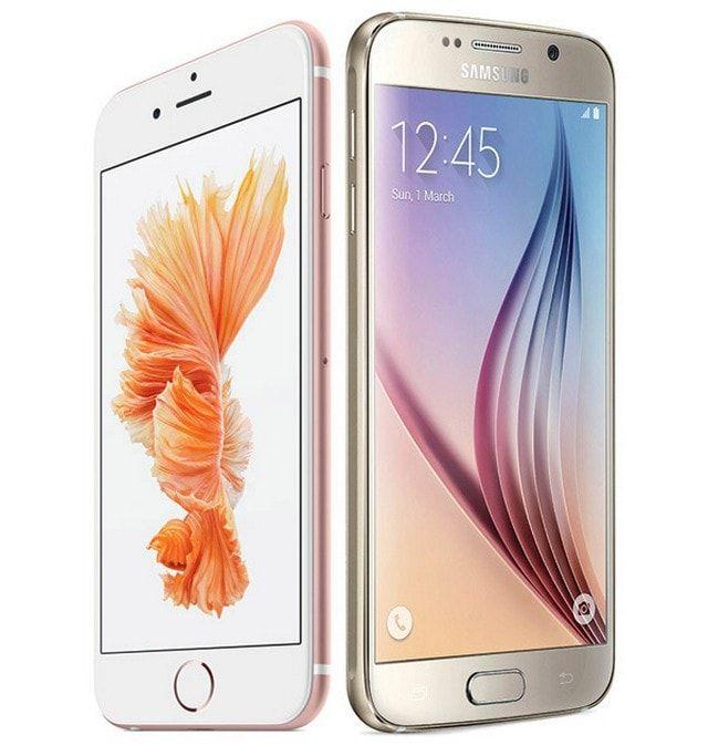 iPhone 6s vs Galaxy 6S