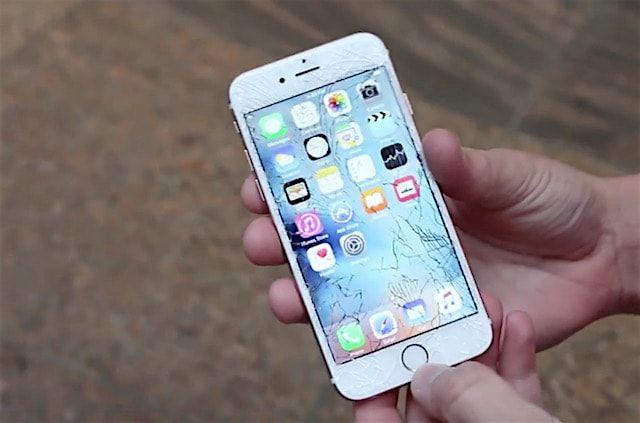 Первый droptest iPhone 6s
