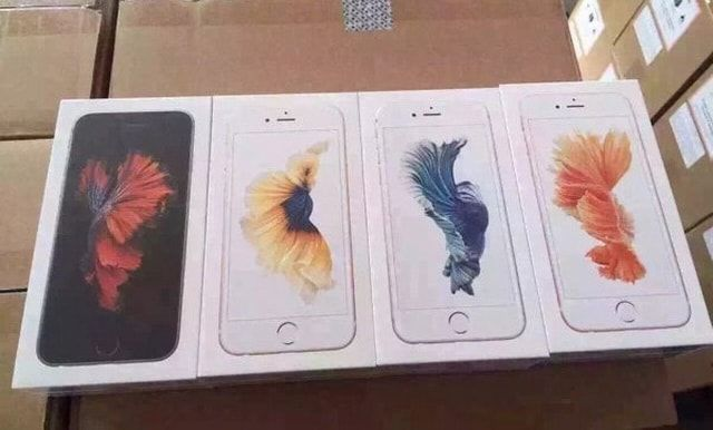 Упаковка iPhone 6s