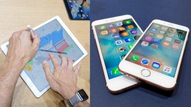 iPhone 6s и iPad Pro