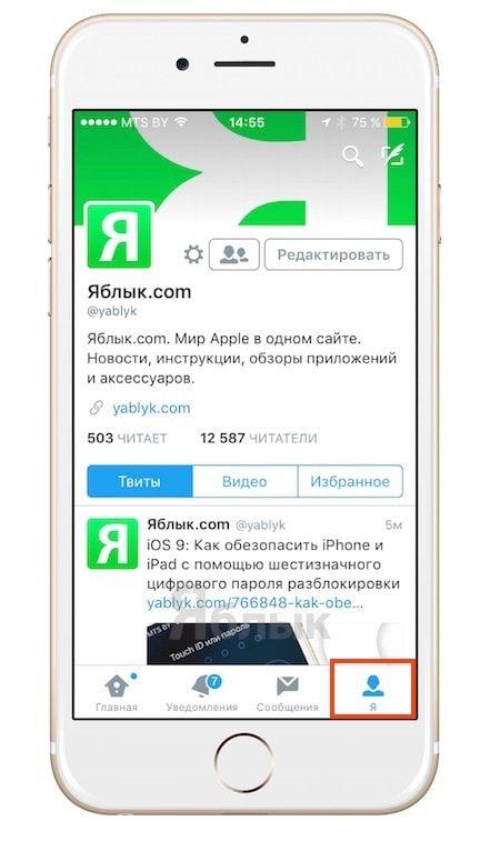 Как отключить автоматическое воспроизведение видео в Twitter на iOS