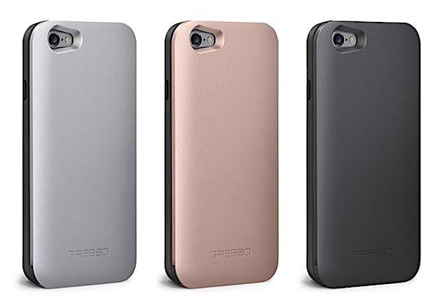 Gresso Aluminum Slider - лучший для iPhone 6s с хранилищем карт