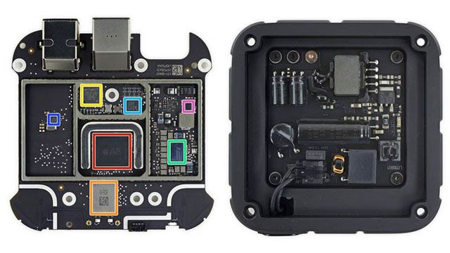 Apple TV 4, iFixit. претензии