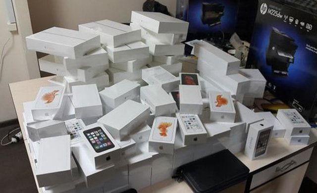 Apple. контрабанда, Киев