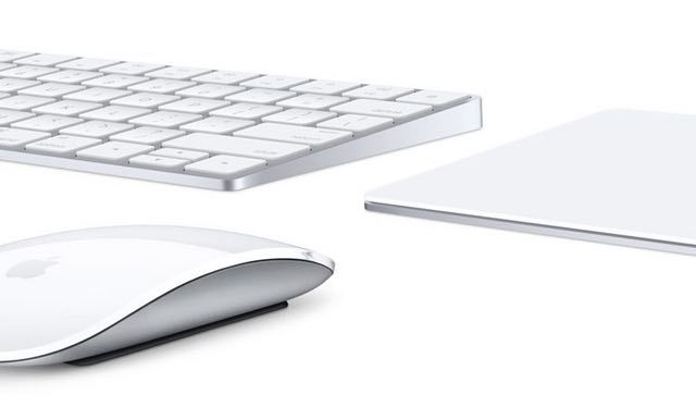 apple keyboard mouse trackpad