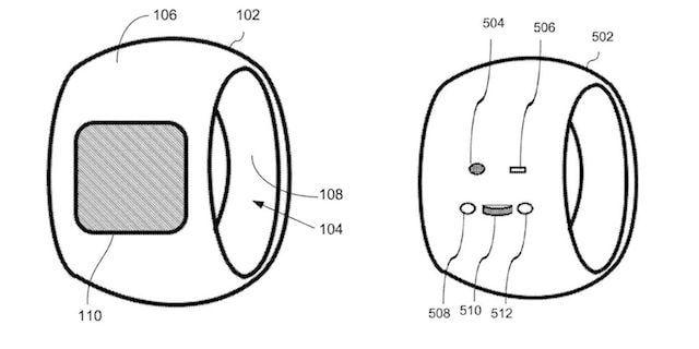 iRing - Apple запатентовала умной кольцо
