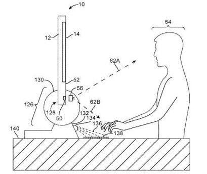 Apple запатентовала голографическую клавиатуру для Mac и iOS-устройств