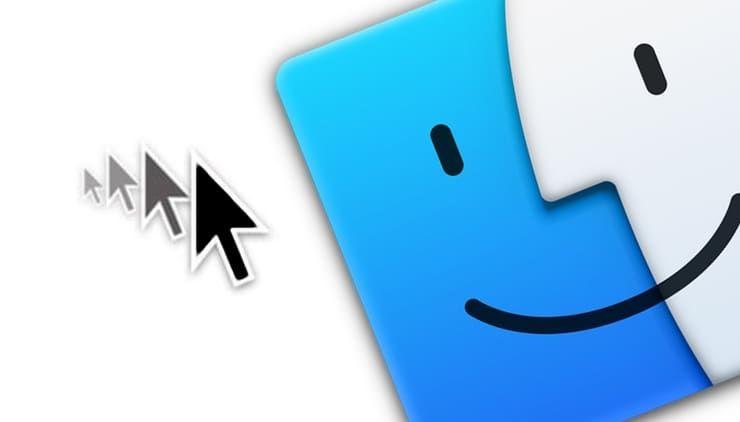 Как включить или отключить функцию увеличения курсора на Mac (macOS)