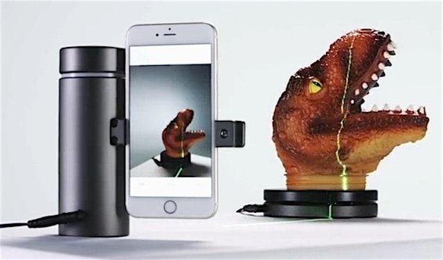 Eora 3D – сканер трехмерных объектов на базе iPhone