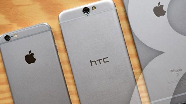 htc iphone clone