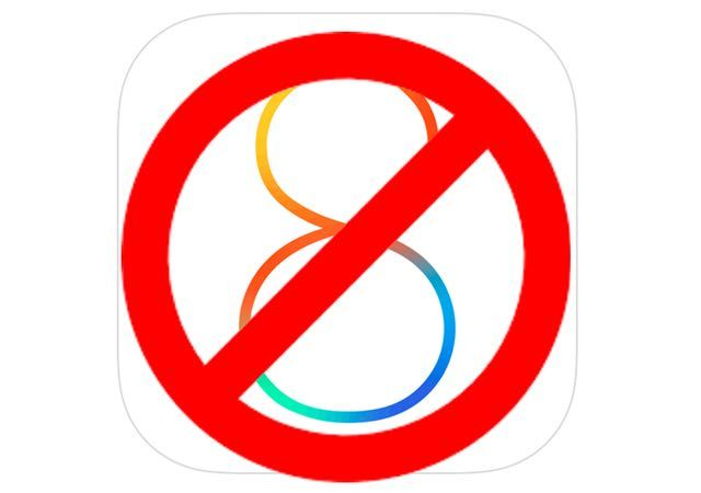 Apple перестала подписывать iOS 8