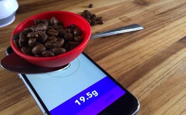 iPhone 6s как весы