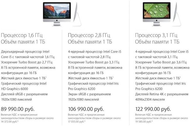цена на 21 Mac