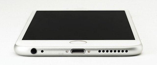 Расположение разъемов в iPhone 6