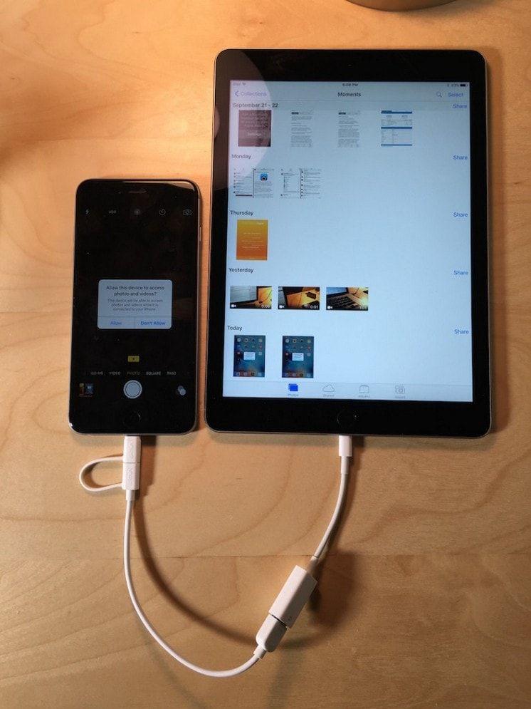 Apple Lightning /USB Camera Adapter