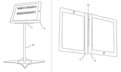Магнитная подставка для iPad