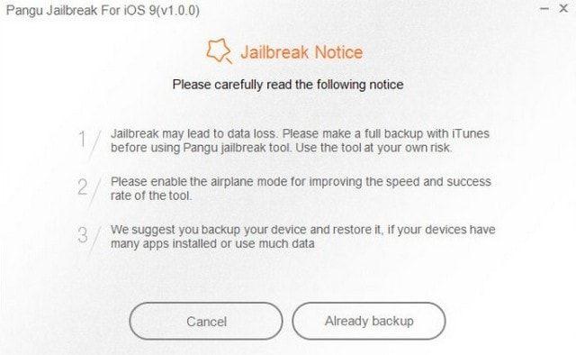 джейлбрейк iOS 9.0 - iOS 9.0.2
