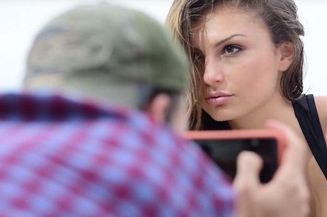 Как фотографировать моделей на iPhone