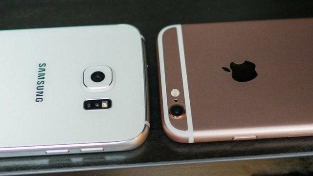 iPhone 6s и Samsung Galaxy S6